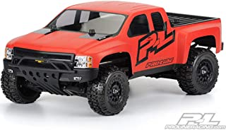 Pro-Line Racing 338500 Chevy Silverado HD Clear Body for Slash 2WD and 4WD (Requires Extended Body Mounts)