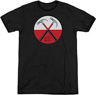 Roger Waters Hammers - Adult Ringer T-Shirt