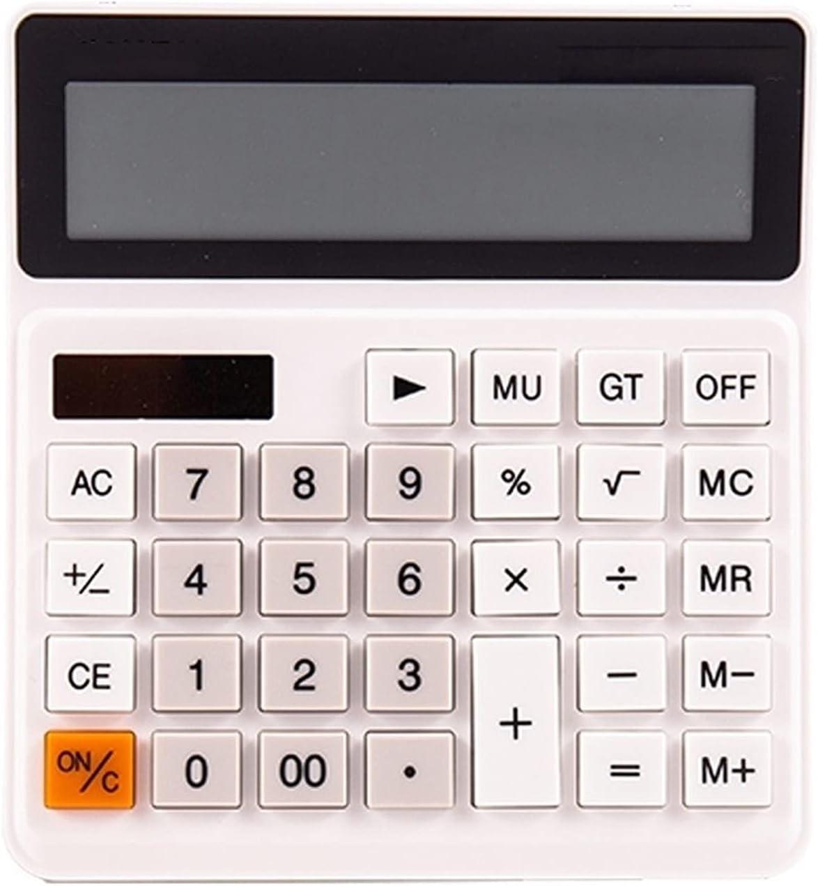 Nippon regular agency Calculator Gorgeous 12-Digit Solar Basic Battery St