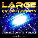 Large Fx Collection - Más de 2000 efectos de sonido únicos| Apple Loops/ AIFF DVD non BOX