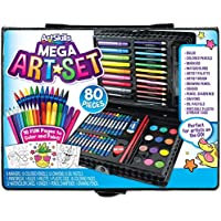 80-Pieces ArtSkills Mega Art Set, Arts and Crafts Supplies