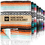 Best Outdoor Blankets - Handcrafted Mexican Blankets, Artisanal Handwoven Serape Blanket, Authentic Review