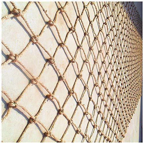 SSWZHANG Negal Safety Net Children Outdoor Escalada Red Balcón Escaleras Protección De Jardín Red Techo Colgando Puente Decorativo Cuerpo Cuerda Net Decorativo Hamaca Swing(Size:1 * 2m(3 * 7ft))