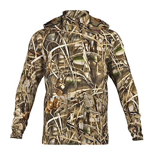 Raptor Hunting Solutions Realtree Max4 Camouflage All'aperto Giacca Impermeabile Parka Realtree Max4 (46)