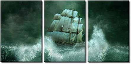wall26 - Ship in The Sea - Canvas Art Wall Decor - 24