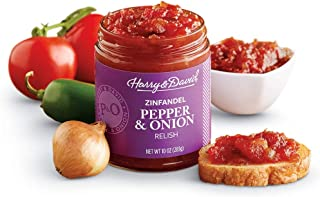 Harry & David Pepper & Onion Relish with Zinfandel (10 Ounces)
