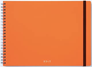 マークス アイデア用ノート・エディット/EDiT/アプリコットオレンジ EDI-NB04-OR