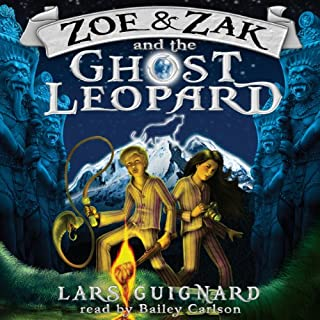 Zoe & Zak and the Ghost Leopard (Volume 1) audiobook cover art