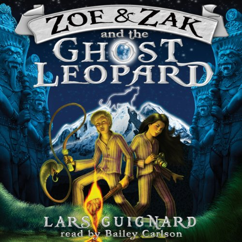 Zoe & Zak and the Ghost Leopard (Volume 1) cover art