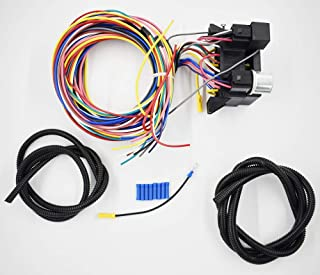 labwork 12 Circuit Universal Wiring Harness Muscle Car Hot Rod Street Rod XL Wires New