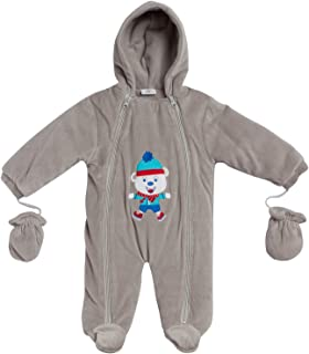 Sweet & Soft Ultra Baby Girls & Boys Warm Snowsuit Mittens Hood