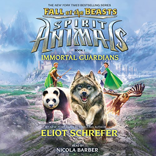 Immortal Guardians audiobook cover art