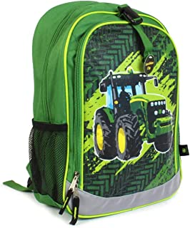 John Deere Tractor Green Child's Backpack