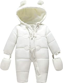 69b98d8e TeenMiro Baby Winter Clothes Newborn Fleece Bunting Infant Snowsuit Girl Boy  Snow Wear Outwear Coats 0