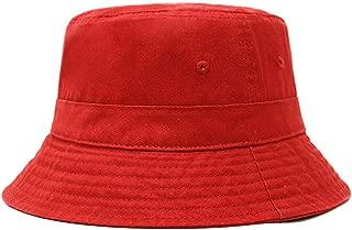 Cotton Bucket Hats Unisex Wide Brim Outdoor Summer Cap Hiking Beach Sports