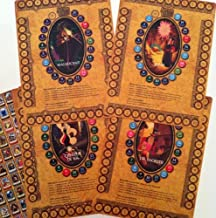Sorcerers Mask of the Magic Kingdom Game, Walt Disney World - Game Boards (All Four), One Pack of Game Tokens, Rules and Card Checklist