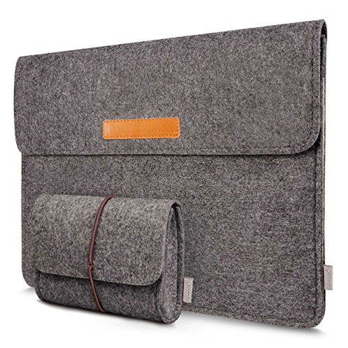Inateck Filz Hülle Tasche Kompatibel 16 Zoll MacBook Pro 2019, MacBook Pro 15,4 Zoll/15,6 Zoll Huawei Mate Book D/Dell XPS 15/ Ultrabook Laptop Sleeve Case