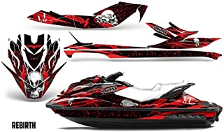 Savage Kits Jetski Graphics kit Sticker Decal Compatible with Sea-Doo GTI GTR GTS 2011-2014 - Rebirth Red