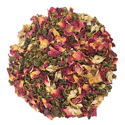 The Tea Farm - Rose Oolong Tea - Chinese Loose Leaf Oolong Tea (2 Ounce Bag)