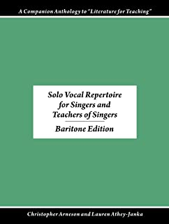 Songs and Arias for Singers and Teachers of Singers, volume 4 (Baritone)