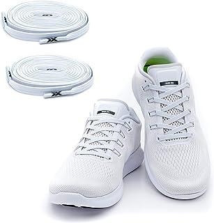 comprar comparacion MAXX laces Cordones elásticos y planos, tensión ajustable para no tener que atar los zapatos, fáciles de usar, compatibles...