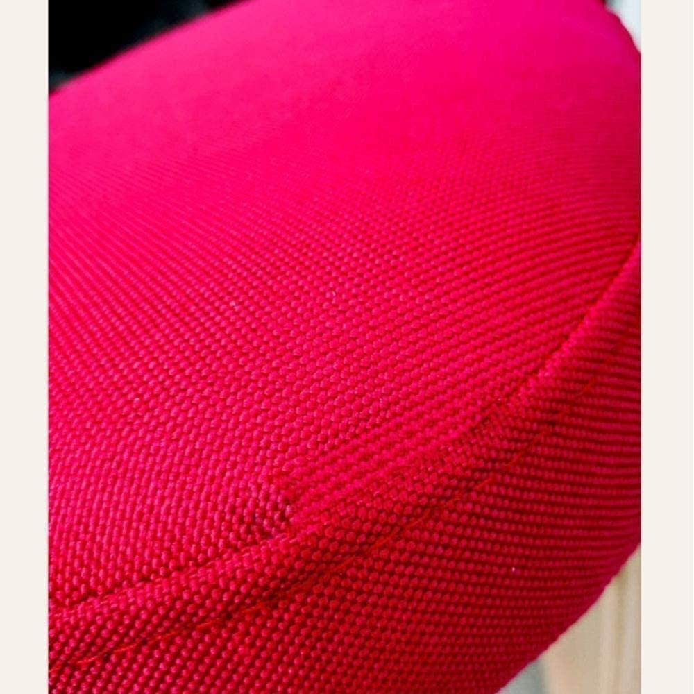 fdxcf Travail Chaise Fauteuil réglable Genoux étudiant Anti-Hump Chaises Posture correctrice enfant Tabouret Soulager Retour Linen Tissu Tabouret,Beige Marron