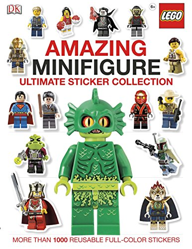 Amazing Lego(r) Minifigure: More Than 1,000 Reusable Full-Color Stickers (Ultimate Sticker Collections)