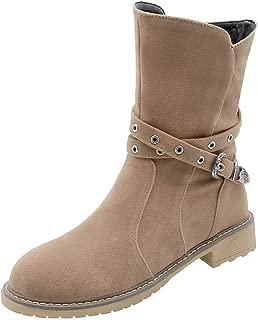 BalaMasa Womens ABS14025 Pu Boots