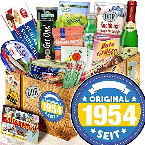 Original seit 1954 / Geschenke 65 Geburtstag Männer / Ost-Set Spezialitäten