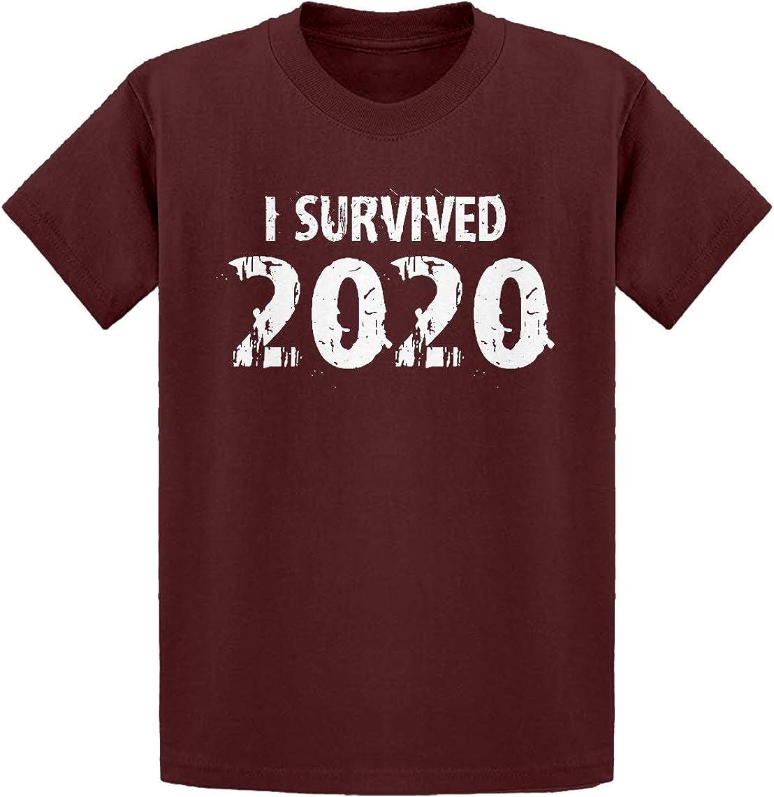 Indica Plateau I Survived 2020 Kids T-Shirt