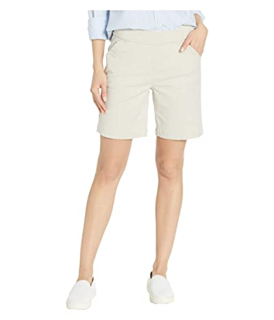 Jag Jeans 7 Petite Gracie Pull-On Shorts in Twill (Stone) Women