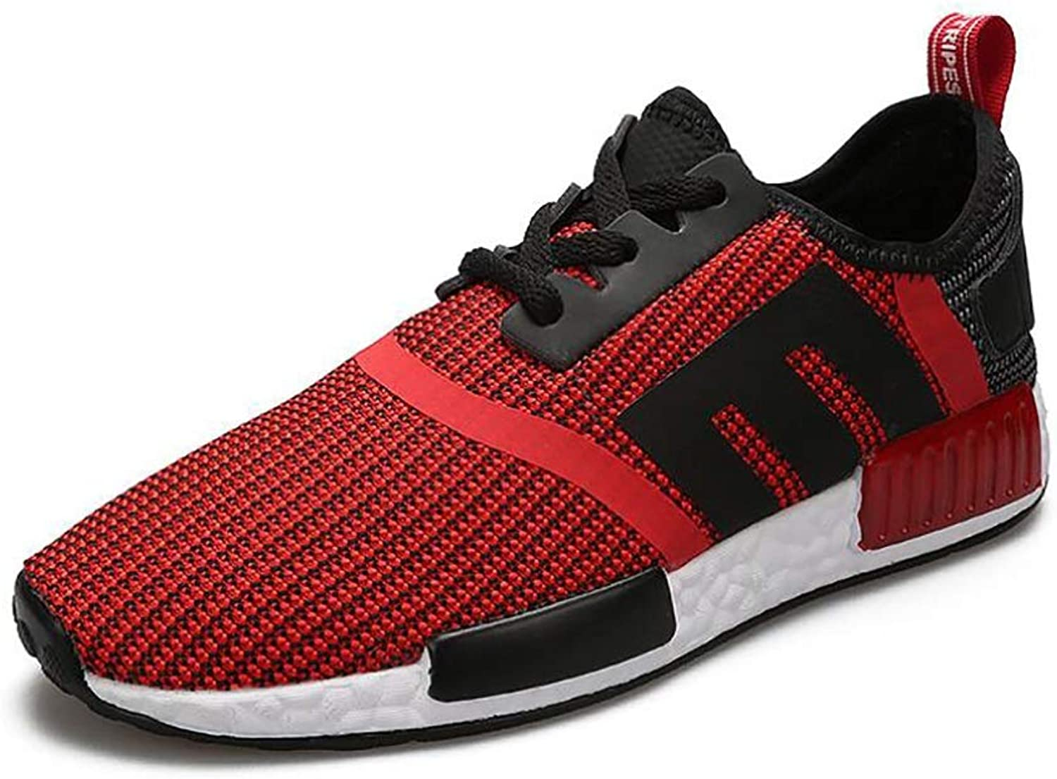 d03ab1d99 2018 New Men's Sports shoes shoes shoes Spring Fall Mesh Casual shoes Men  Breathable Lightweight Running shoes Red, Black, Green (color C, Size 39)  c4c055