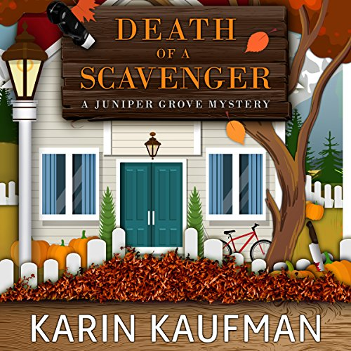 Death of a Scavenger audiobook cover art