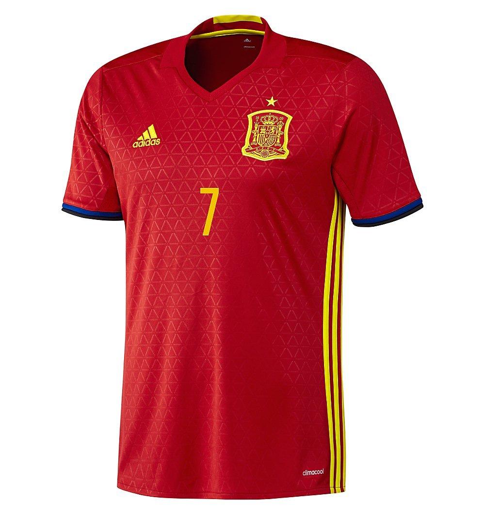adidas Morata #7 España Camiseta de equipación de fútbol UEFA Euro 2016 (US Size XL): Amazon.es: Deportes y aire libre