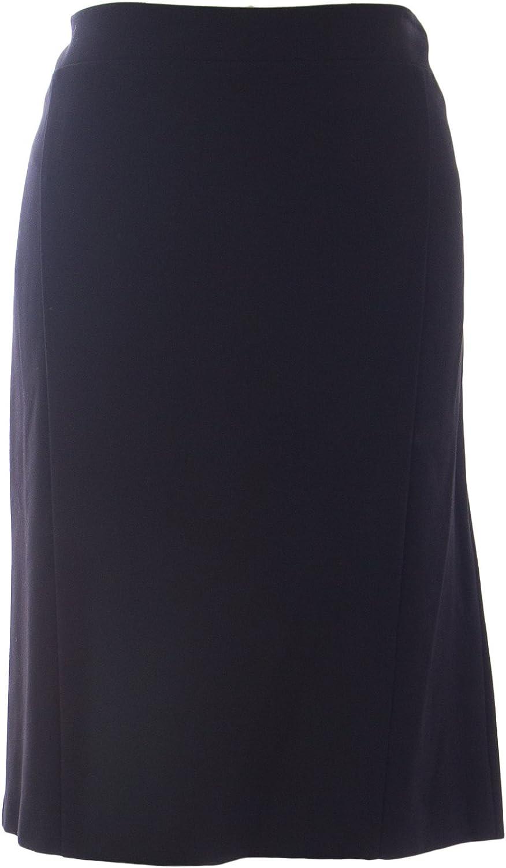 Marina Rinaldi Women's Ortensia Straight Skirt Black