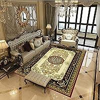 カーペット,エリアラグお手入れが簡単ステイン、フロアデコレーションカーペットマットエスニックヴィンテージ滑り止めカーペットマットリビングルーム、ベッドルーム、バスルーム、キッチン、家の装飾(Color:Gt071;Size:40*60CM)