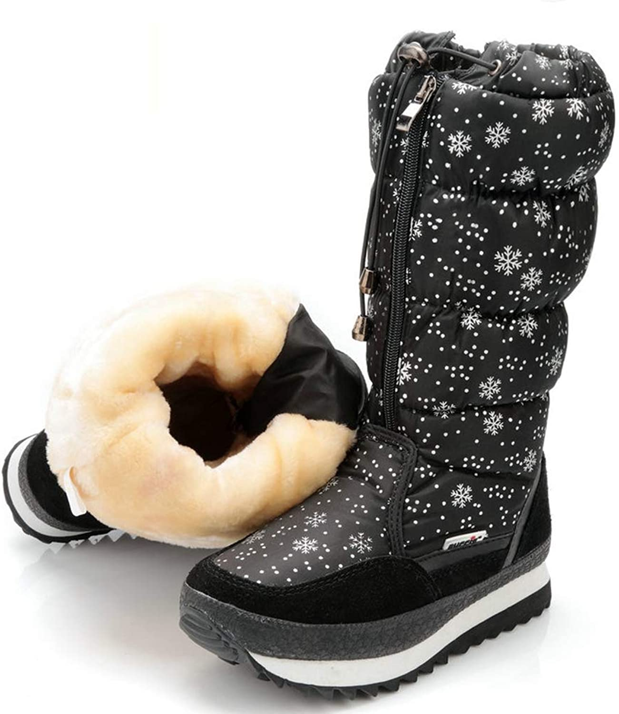 T -JULY kvinnor Winter stövlar Four Colour vit svart grå grå grå och Navy Botas Winter stövlar  köp varumärke
