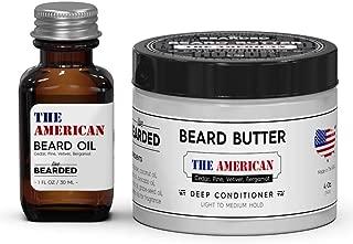 Beard Oil and Beard Butter Kit - The American