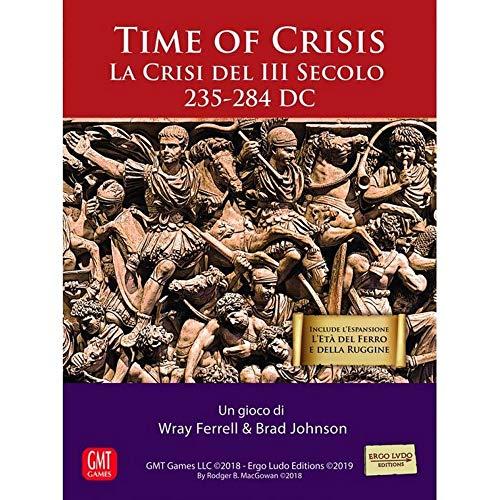 Ergo Ludo Editions Time of Crisis - Gioco da Tavolo in Italiano