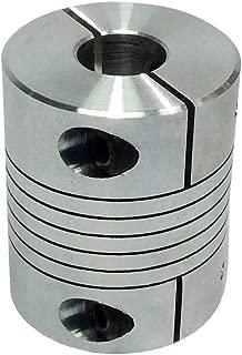 BEMONOC CNC Flexible Coupler D32L40 Bore 8mm 10mm 12mm 14mm Motor Chain Shaft Coupling
