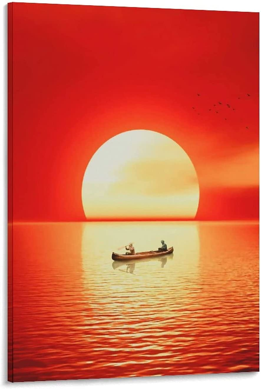 VENDIANA The Boat is Topics quality assurance on TV Red De Under Sunset River Poster