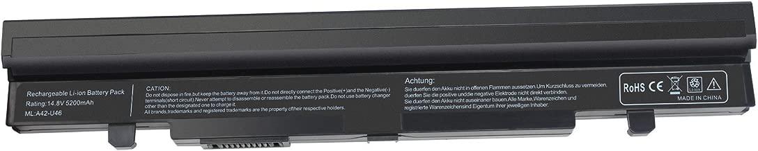 BATURU 8-Cell New Laptop Battery A42-U46 A41-U46 A32-U46 for Asus U56 U56E U46 U46E U46J U46JC U46S U56J U56JC U56S U56SV U56e-bbl6-12 Months Warrty