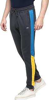 Alan Jones Clothing Men's Solid Slim Joggers Track Pants