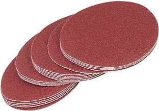 CNBTR 320# 180mm 7-Inch Sanding Discs Hook Loop Sandpaper DIY Tool Pack of 20