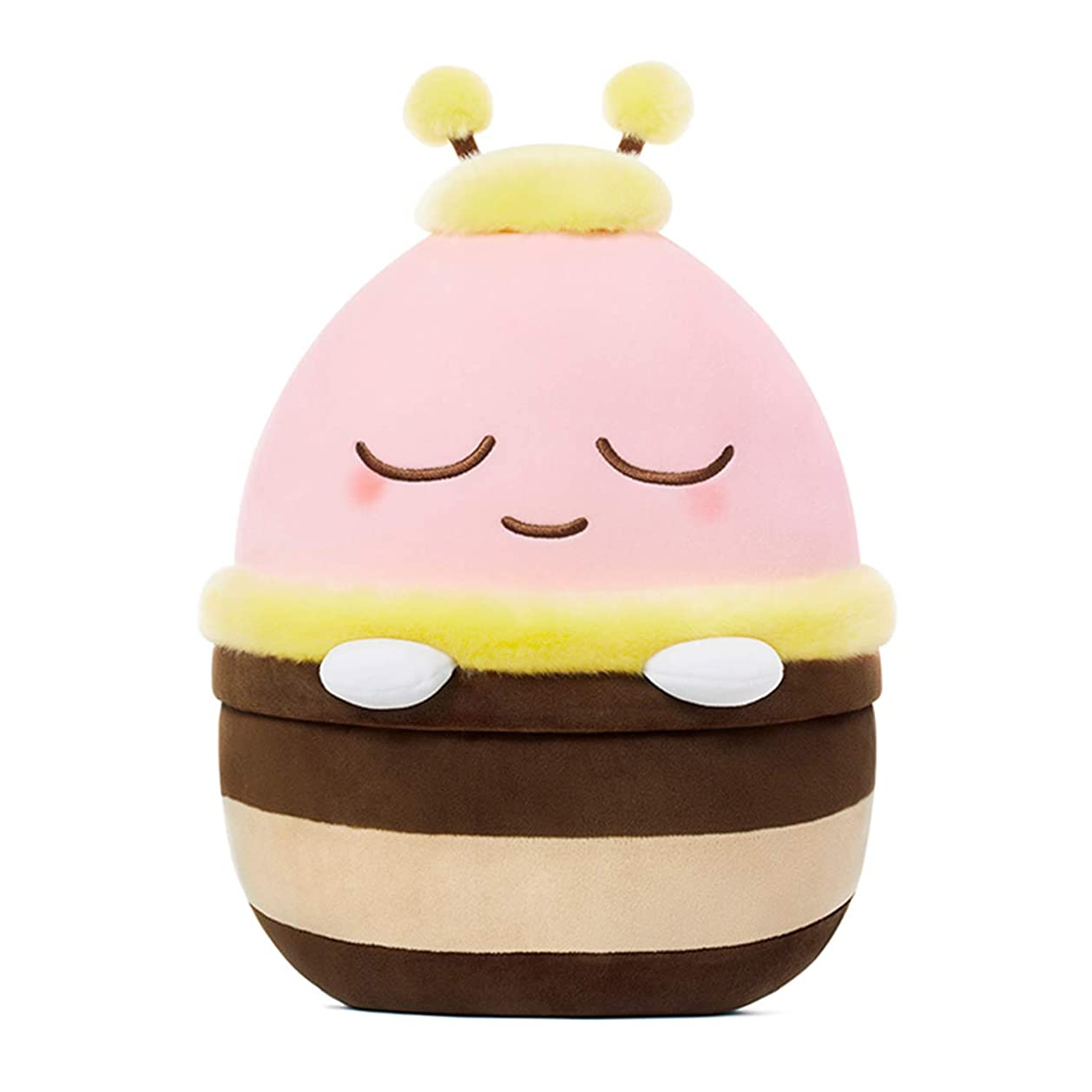 誓い何でも汚い[オフィシャル] カカオフレンズ - ハニーフレンズ ふわふわクッション KAKAO FRIENDS - Honey Friends Mochi Cushion (Apeach)