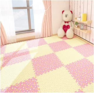 MAHFEI Foam Exercise Mat Puzzle Pad Child Crawling Collision Protection Reduce Noise Impact Resistance Easy To Clean PE Gy...