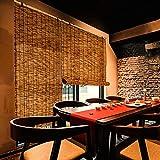 L-KCBTY Persiana Estor Enrollable De Bambú Natural, Cortina De Bambú para Decoración De Ventanas, 70% De Tasa De Sombreado, Pantallas De Privacidad para Puertas Y Ventanas