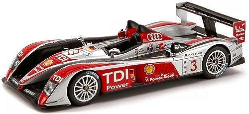 Spark Model S0685 Audi R 10 N.3 4th LM 2008 1 43 MODELLINO DIE CAST Model kompatibel mit