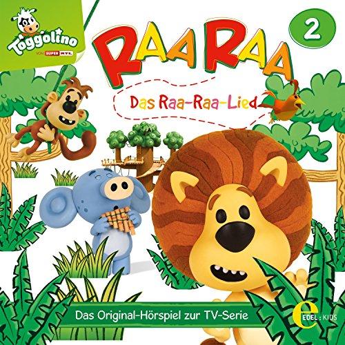Das Raa-Raa-Lied. Das Original-Hörspiel zur TV-Serie Titelbild