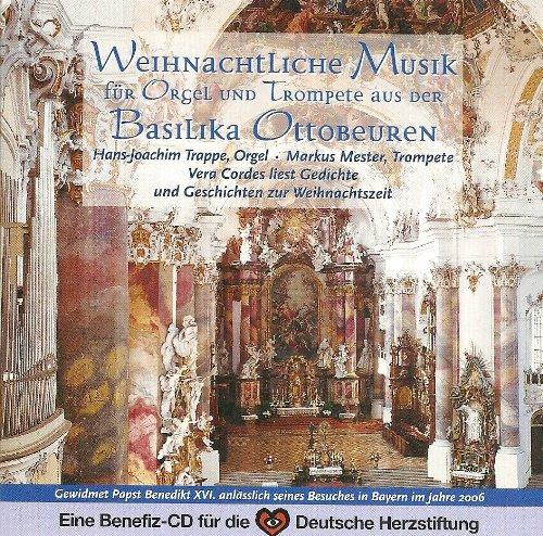 Weihnachtliche Musik für Orgel und Trompete aus der Basilika Ottobeuren
